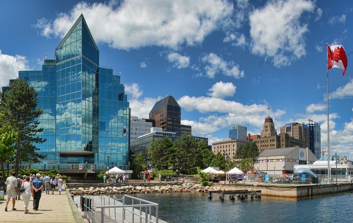 Canada & New England cruise ports: View of Halifax downtown