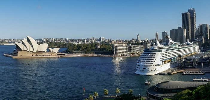 Cruises around Australia and New Zealand
