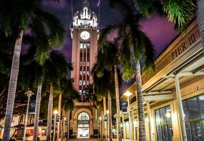 Honolulu attractions: Aloha Tower Marketplace