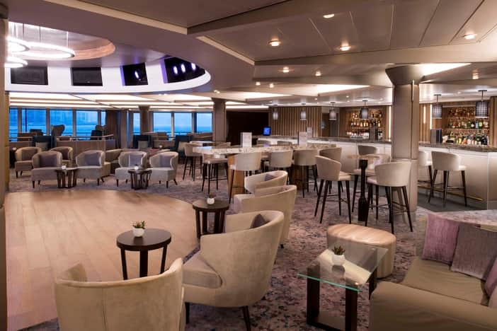 Rendezvous Lounge on Deck 4