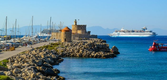 Cruise to Rhodes, Greece