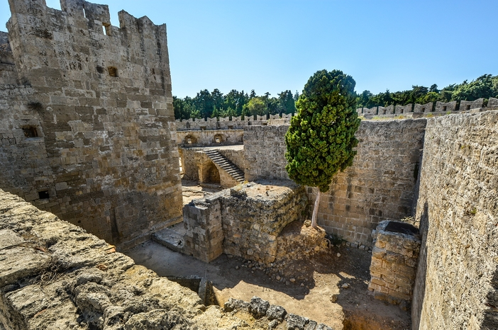Old Town: Fortifications of Rhodes