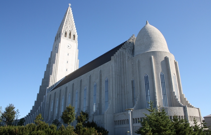 Reykyavik attractions: Hallgrímskirkja Church