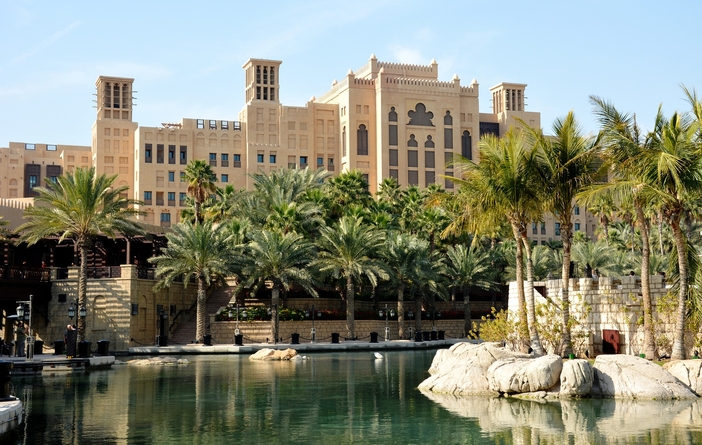 Souk Madinat Jumeirah outdoor mall