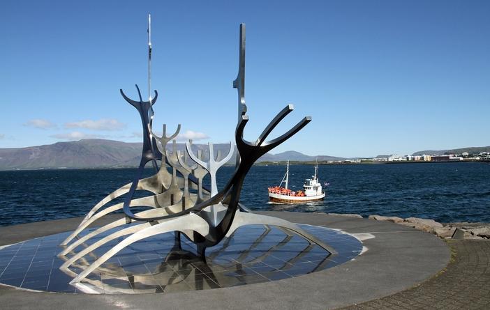Reykjavik attractions: Sólfar, Sun Voyager