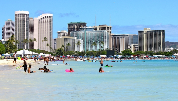 Honolulu attractions: Waikiki Beach