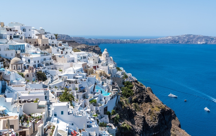The picturesque Oia Village