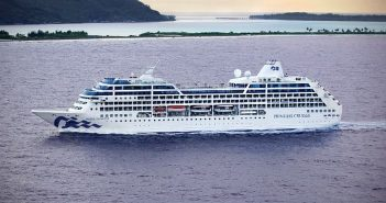 Pacific Princess returns to Tahiti