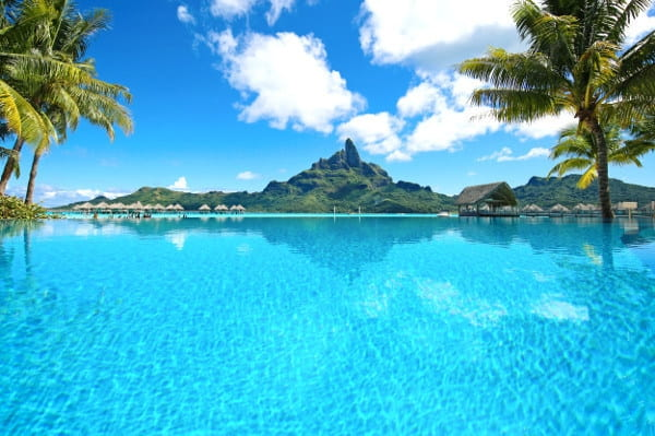 Scenic Island of Tahiti