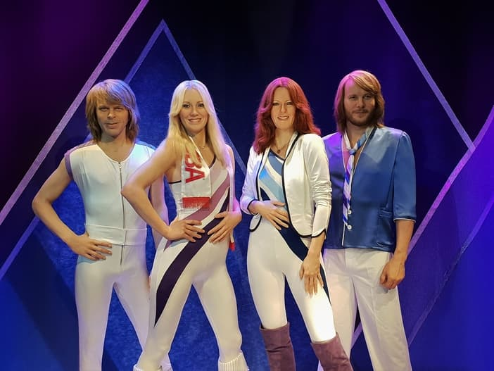 The ABBA museum in Stockholm, Sweden