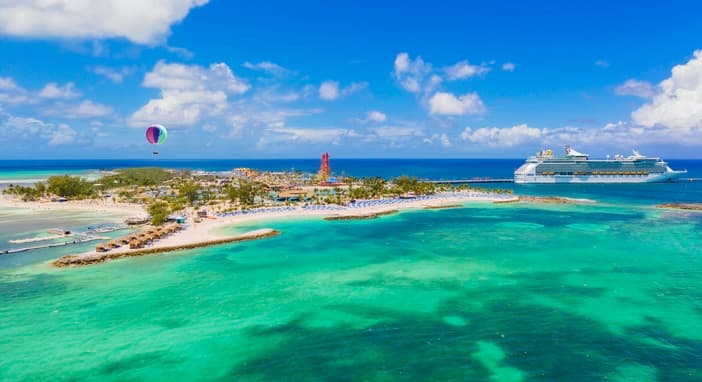 Water Park Meets Beach At Perfect Day Island At Cococay
