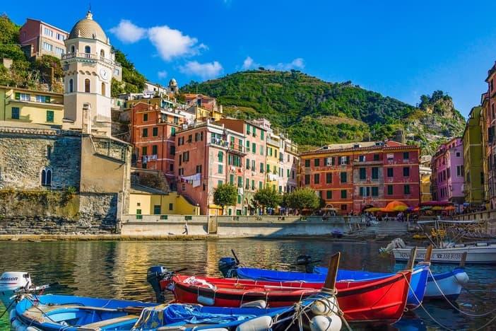 Bay of Riomaggiore, Italy