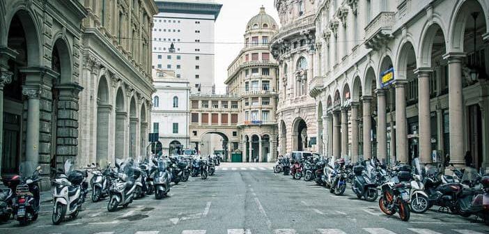 Calm Genoa street