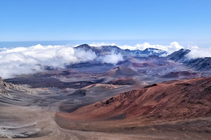 Maui volcanic summit