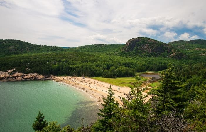 Sand Beach, Bar Harbor