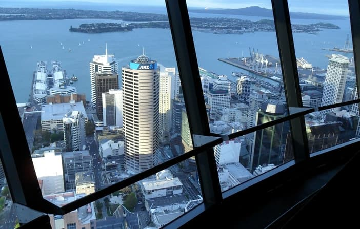 View Auckland from the Sky City Tower