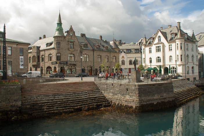 Alesund city center