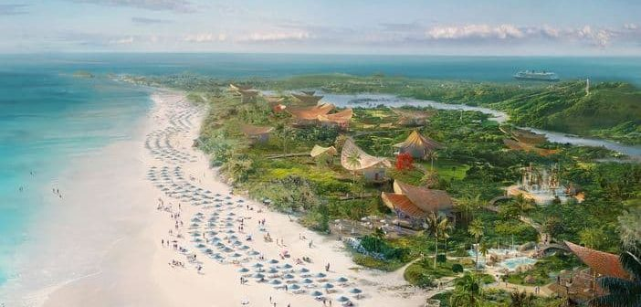 Disney's Second Private Island in the Bahamas, Lighthouse Point, Revealed