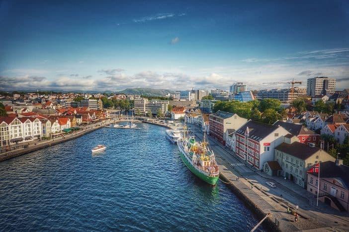 Stavanger aerial