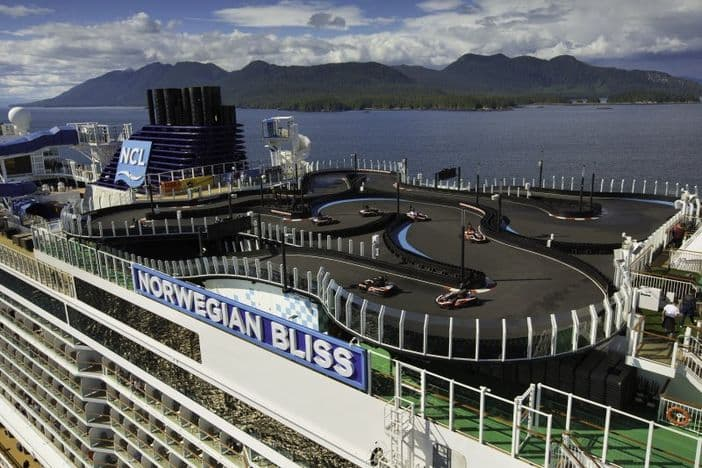 Norwegian Cruise Line - Race track
