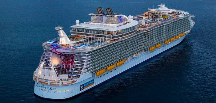 Harmony of the Seas Aerial