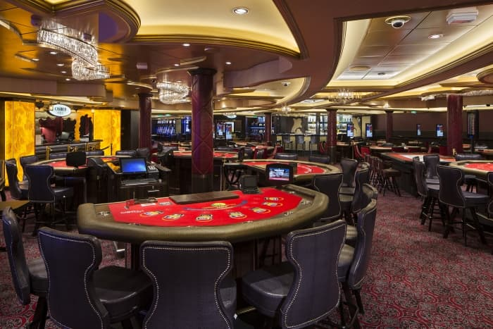 Casino Royale, one of the most common cruise ship amenities