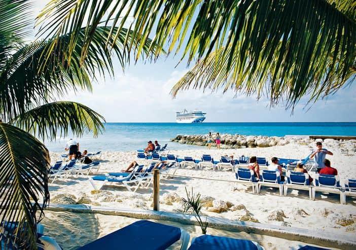 Princess Cays' beach