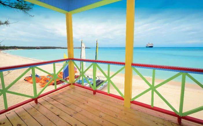 Half Moon Cay beach, Holland America Line's private island