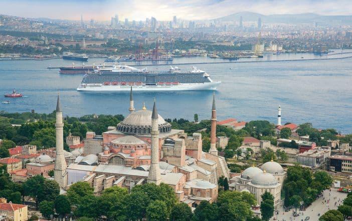 Regal Princess in Istanbul