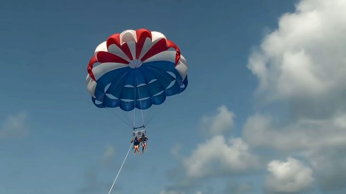 Great Stirrup Cay parasail adventure